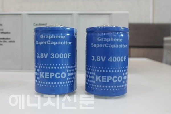 KEPCO and VINATech joint-developed Graphene SuperCapacitors